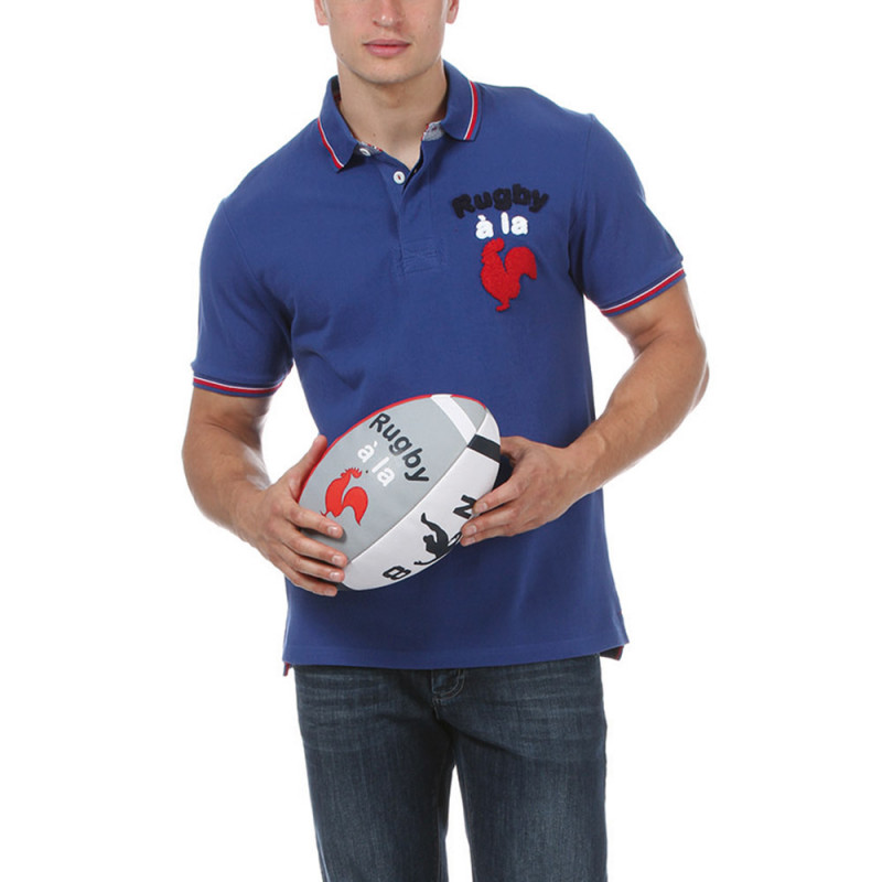 Blue Rugby Polo