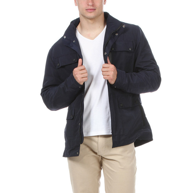 Blue Rugby Coat