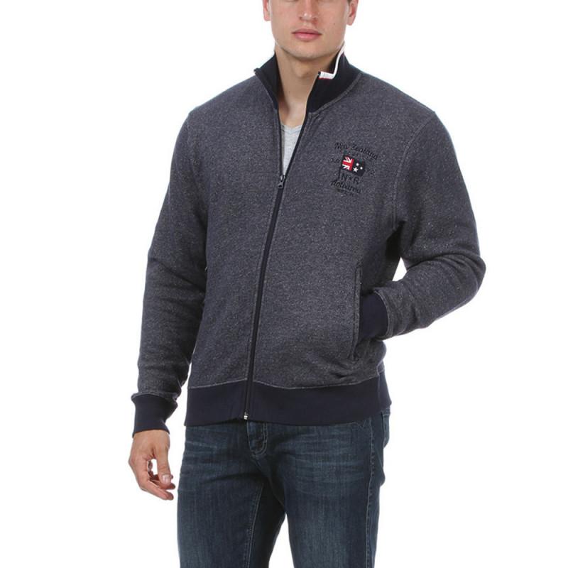 Sweatshirt with zip fastening by Ruckfield