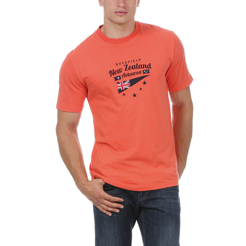 "Orange ""New Zealand"" T-shirt"