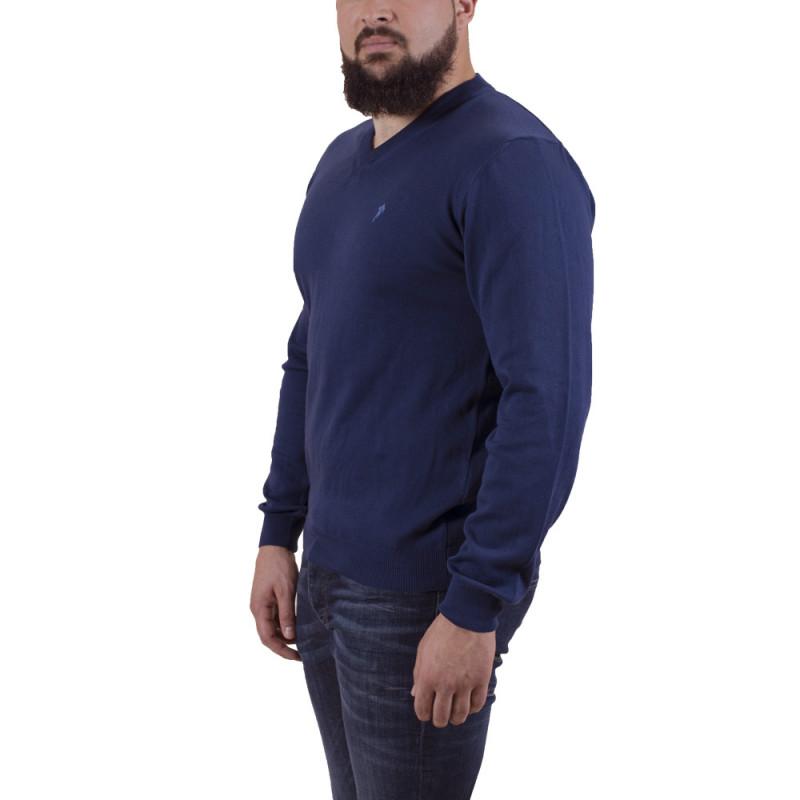 Dark blue V neck Pullover