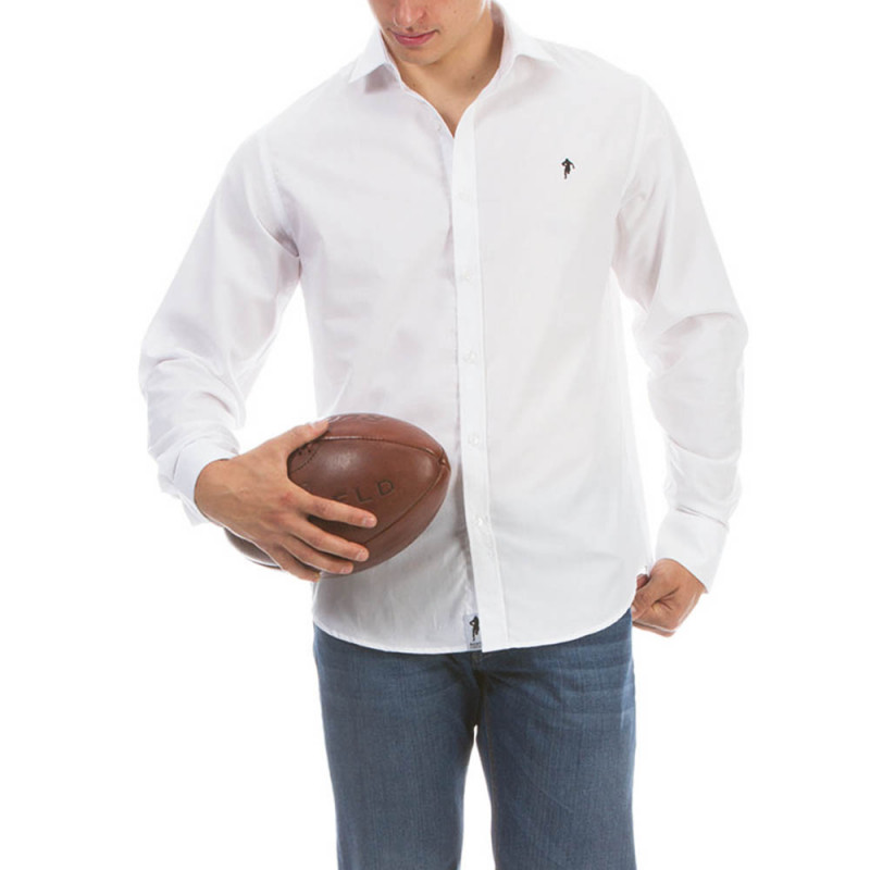 White Crease-resistant Shirt