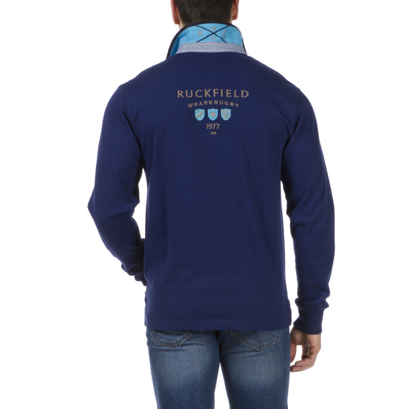 Polo Bleu France Wearerugby