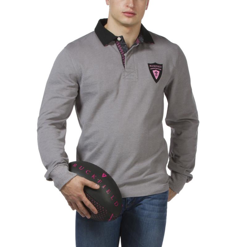 Polo gris Maison de rugby