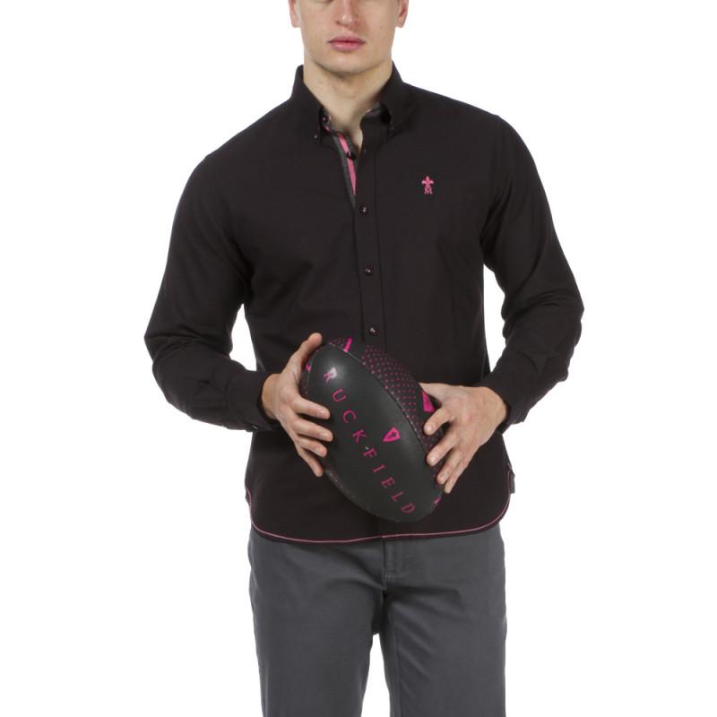 Chemise noire Maison de Rugby