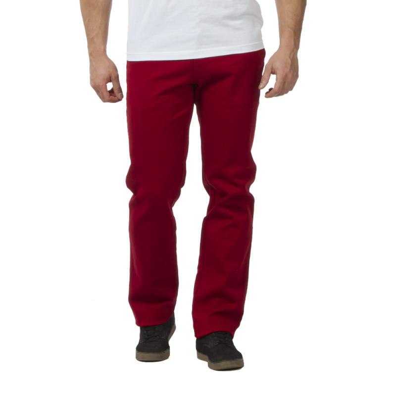 Pantalon Chino rouge Chabal