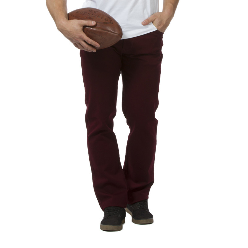 Pantalon Regular bordeaux rugby