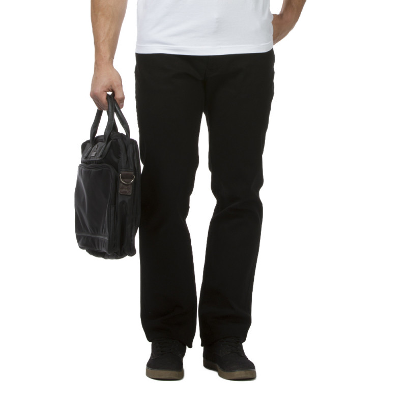 Pantalon Regular noir rugby