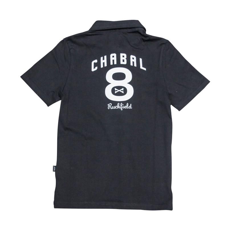 Le Chabal Black Polo Shirt For Kids