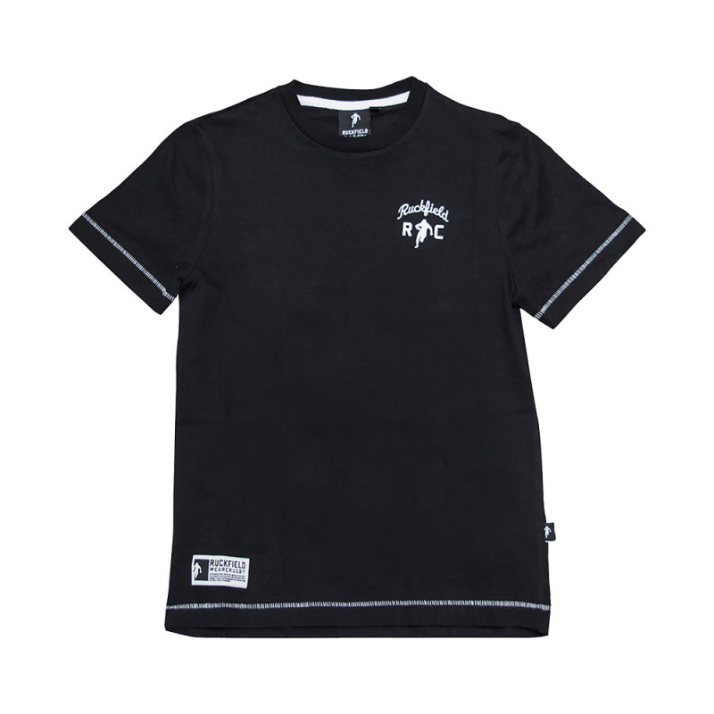 Le Chabal Black T-Shirt For Kids
