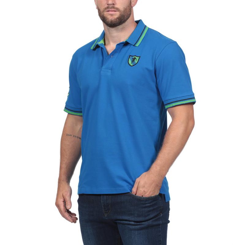 Rugby Essentiel Blue Polo Shirt