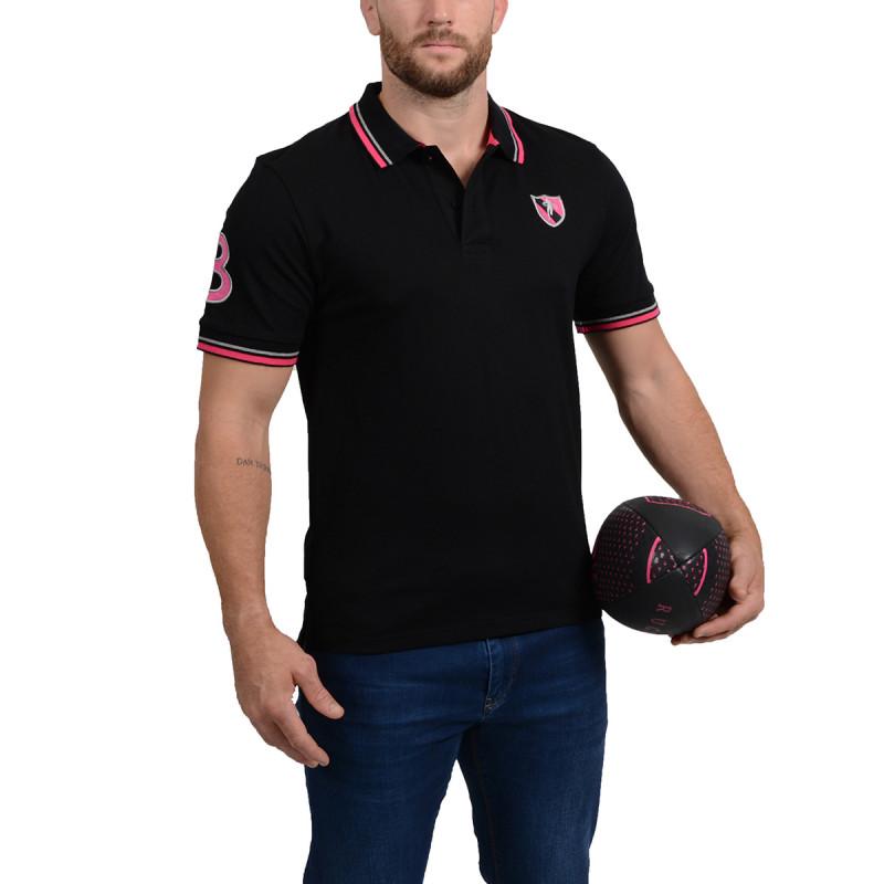 Essentiel Black Polo Shirt