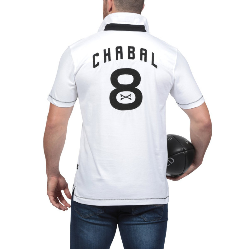 Le Chabal White Polo Shirt