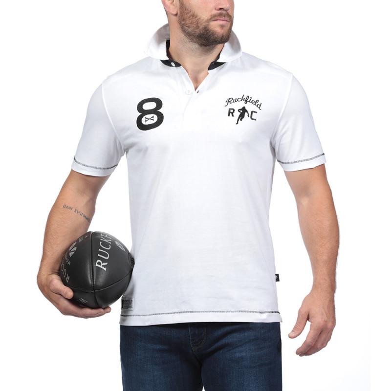 Le Chabal White Polo Shirt
