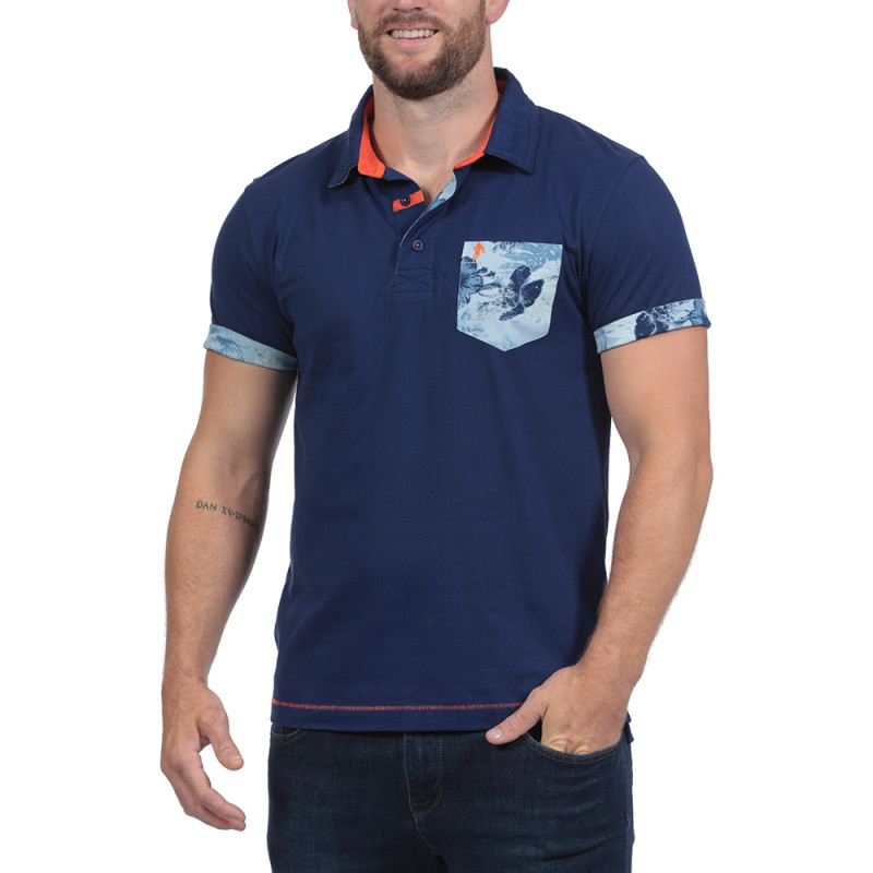 Island Navy Blue Polo Shirt