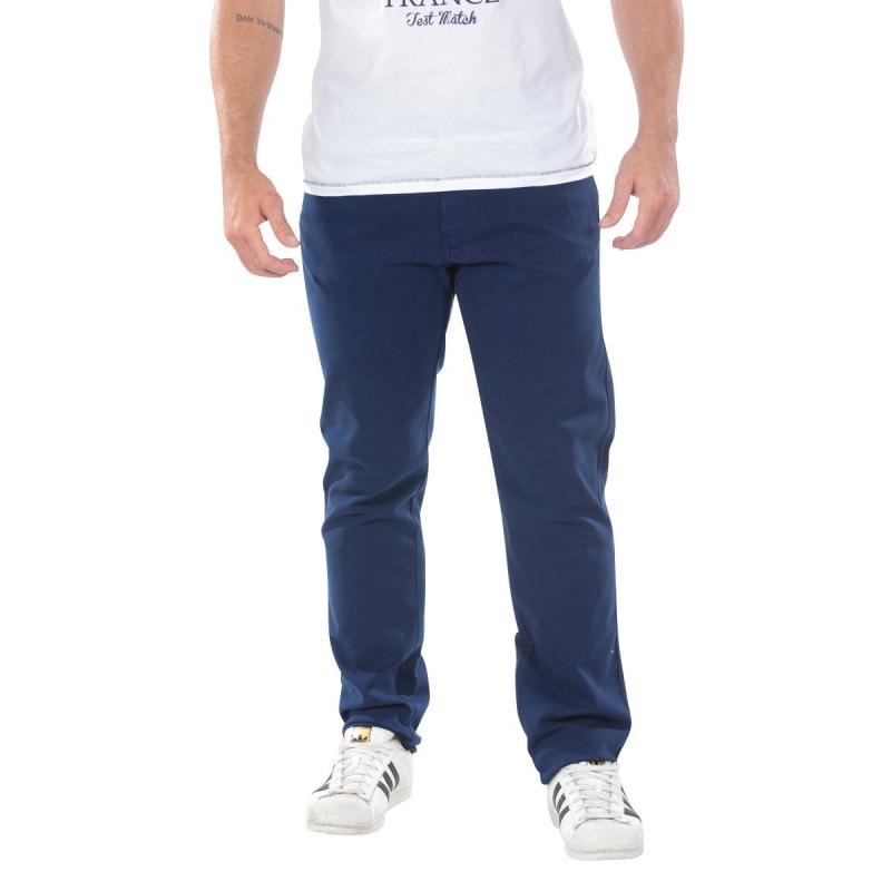 Navy Blue 5-Pocket Pants