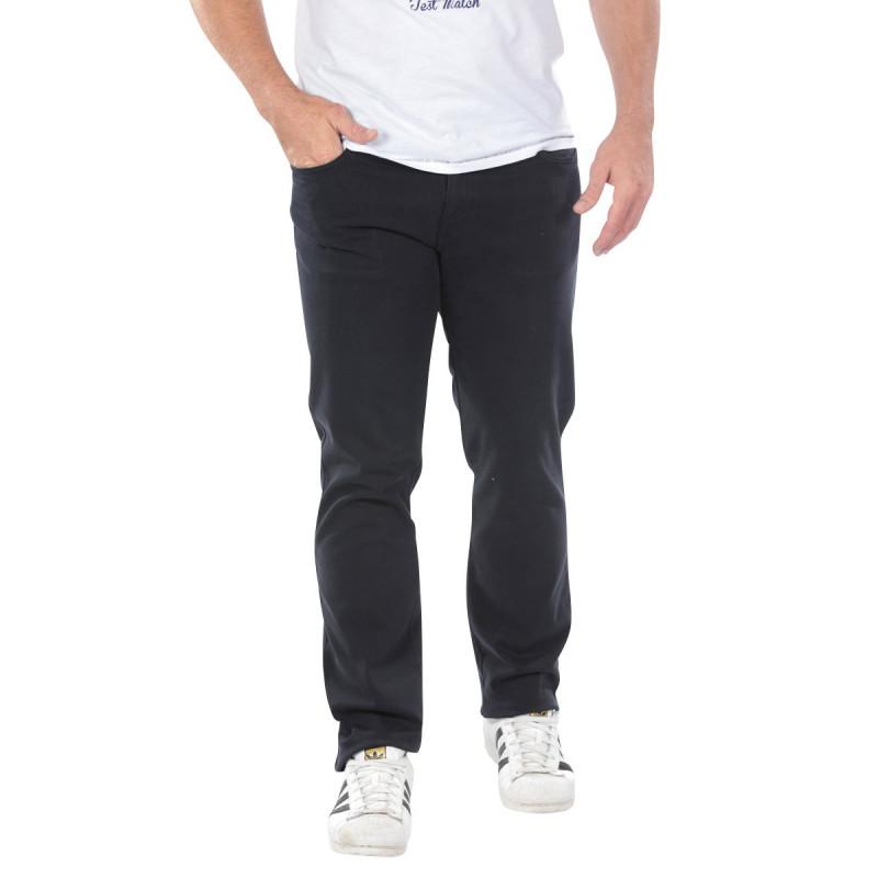 Black 5-Pocket Pants