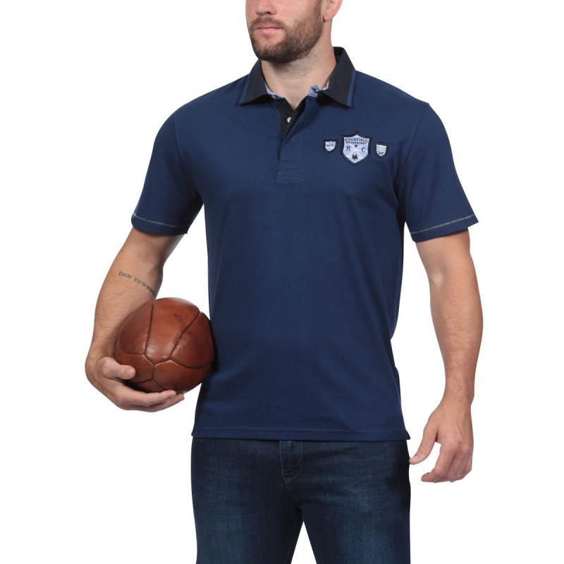 We Are Rugby Navy Blue Polo Shirt