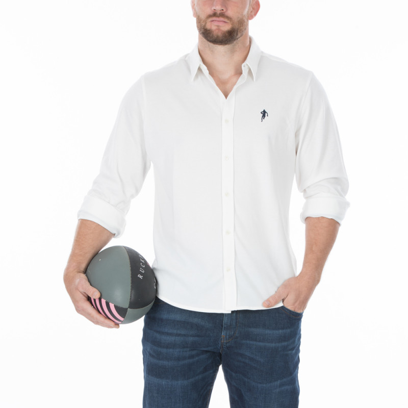 Chemise blanche rugby