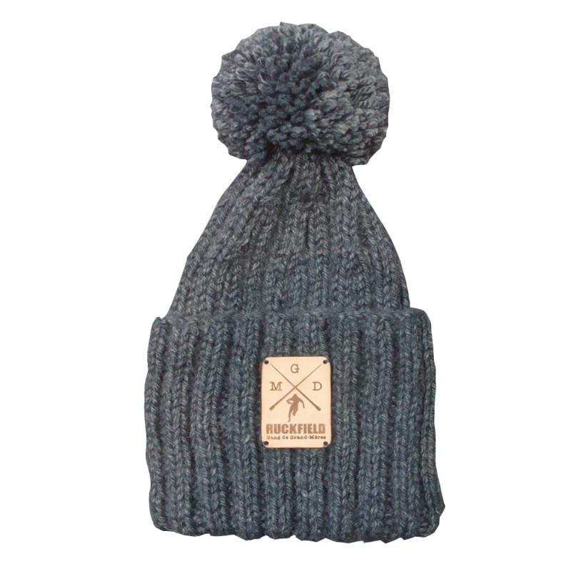 Bonnet a pompon en laine