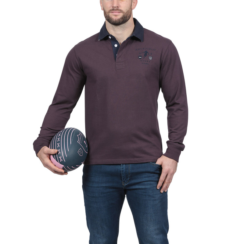 Polo bordeaux We are Rugby