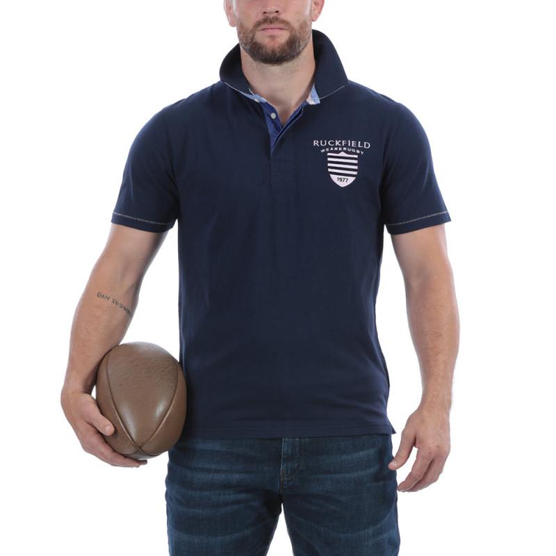 Polo rugby bleu