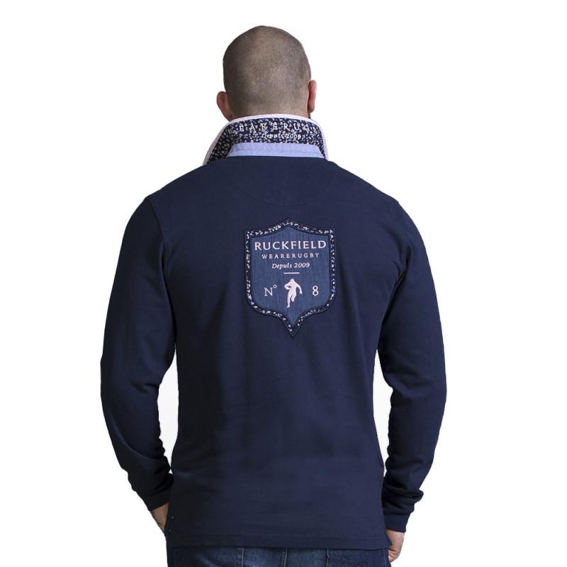Polo homme sport bleu