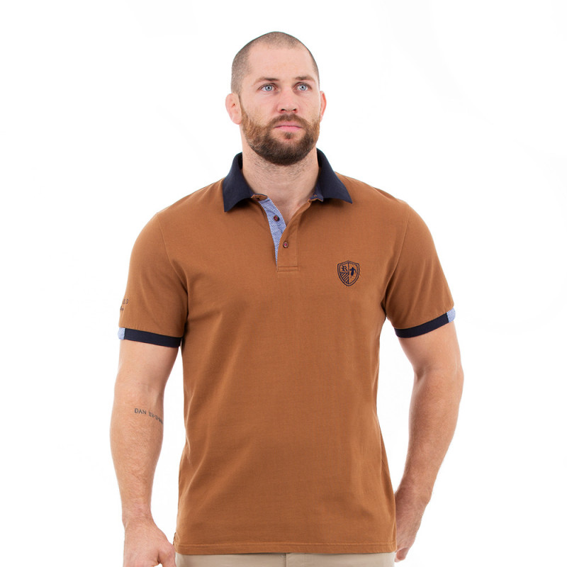 Polo homme rugby élégance