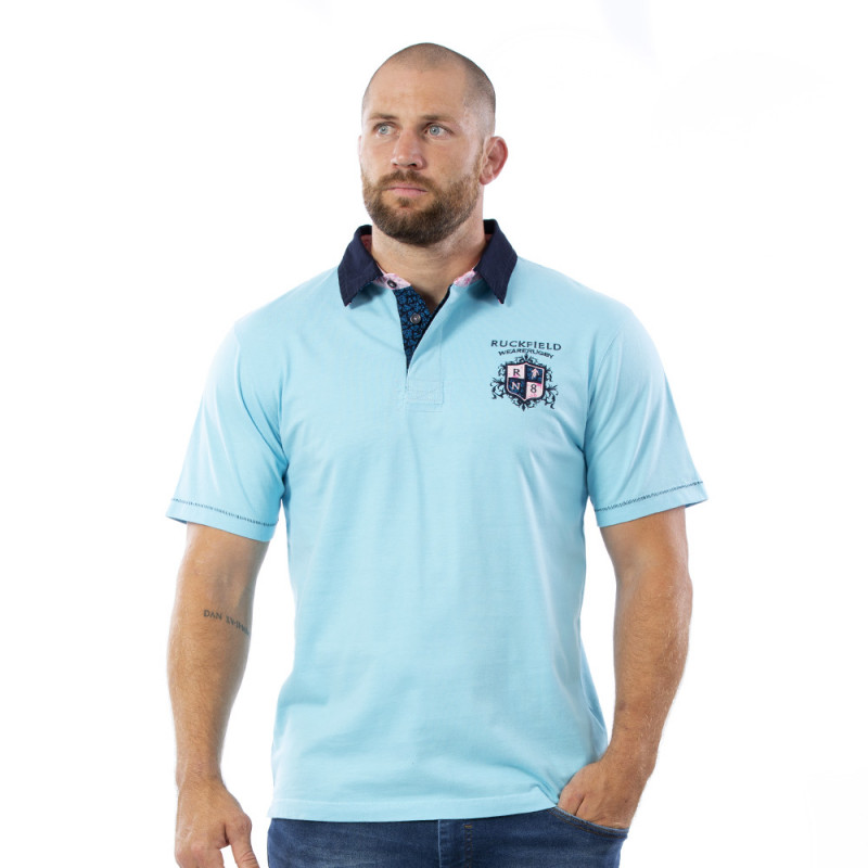 Polo turquoise We are rugby