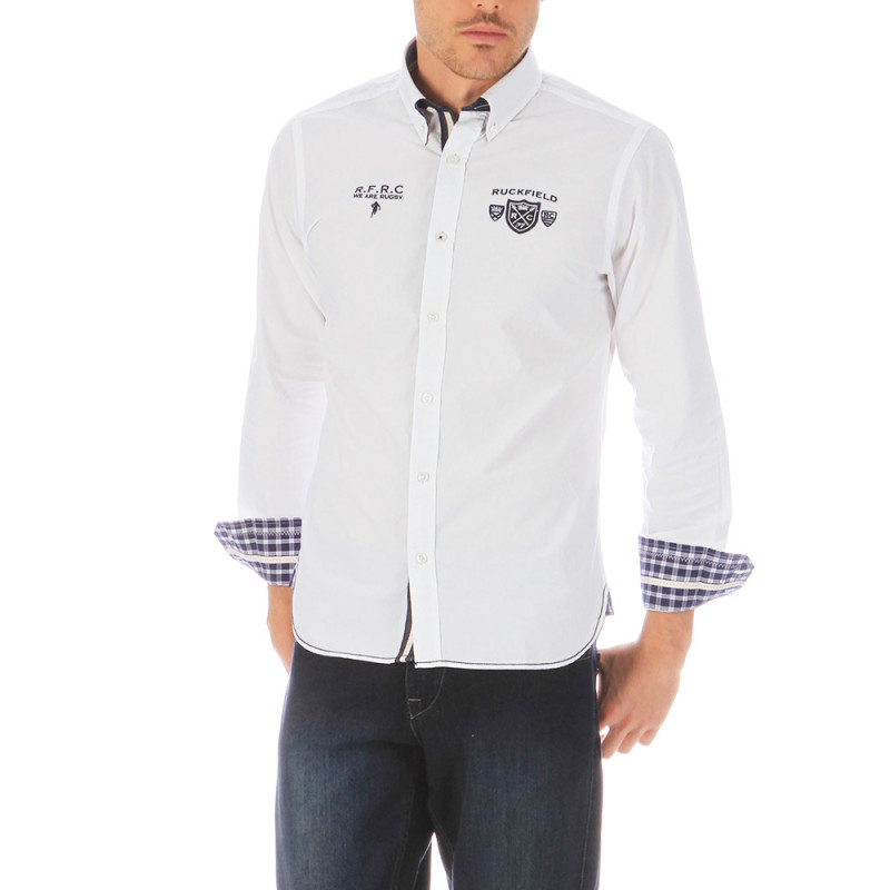 Chemise rugby blanche