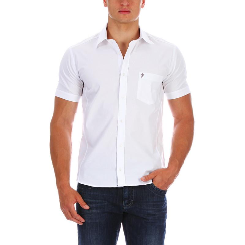 Essential white shirt.