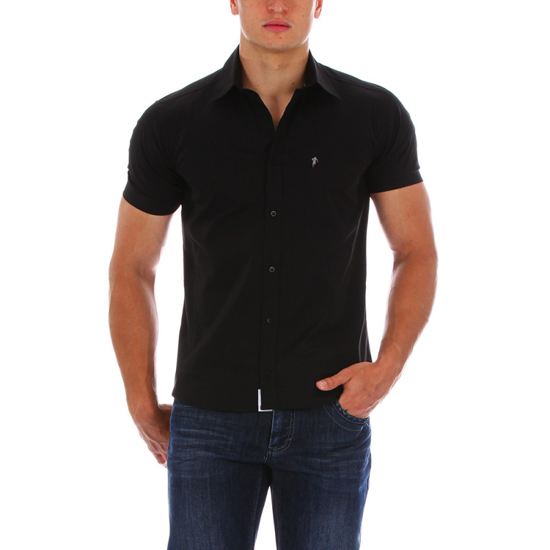 Essential black shirt.