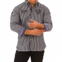 Mount Cook striped shirt