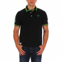 Black Chabal rugby polo shirt