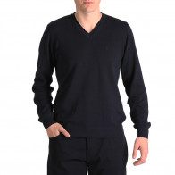 Blue Essential Rugby V-neck jumper