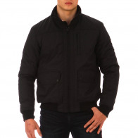 Black polyamide Test Match jacket