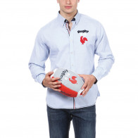 Light Blue Rugby Shirt