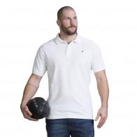 Polo sportwear rugby blanc