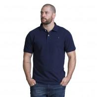 Polo homme rugby bleu marine