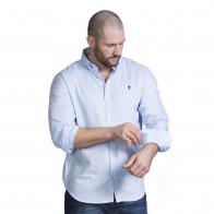 Chemise bleu homme