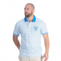 Polo piqué rugby Flower