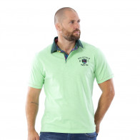 Polo tropical vert