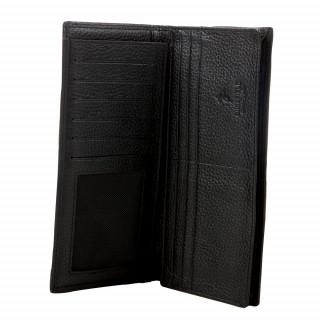 Portefeuille en 100% cuir Ruckfield. Format long vendu dans son coffret.