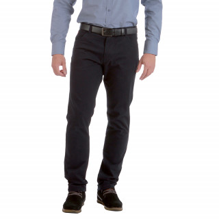 Regular cut trousers and comfort with embroidered logo. Available up to  56 Fr.