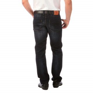 Men's dark blue jeans