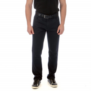 Black Ruckfield trousers in a cotton blend with elastane for even greater comfort. Regular fit. Sizes available: 38 to 56 Fr.