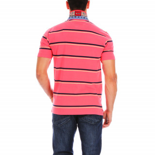 1977 striped rugby polo shirt