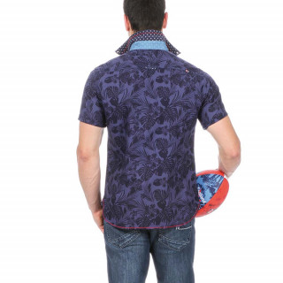 Floral Summer Rugby Shirt