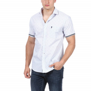 Short sleeve t-shirt made of 100% cotton with embroidery on chest pocket.
