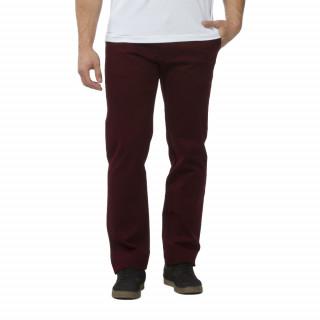 Pantalon chino bordeaux pour homme grandes tailles
